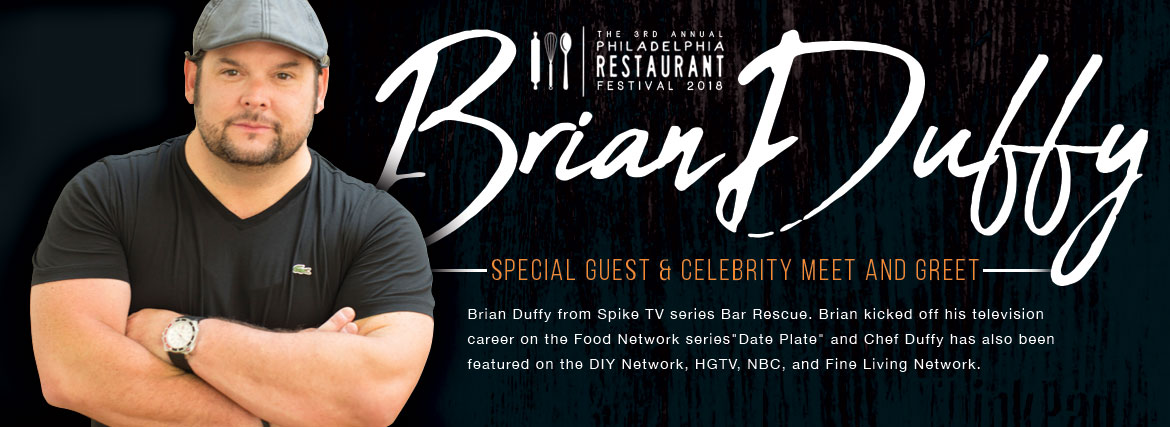 Celebrity Chef Brian Duffy - Philadelphia Restaurant Festival